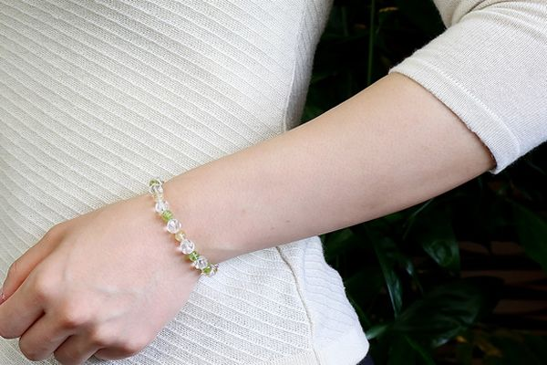 Get good luck with the right Crystal bracelet for you!