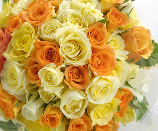 7 knacks to make a pretty bouquet with yellow flowers