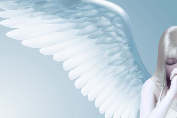 How to use angel pictures to get a lucky break