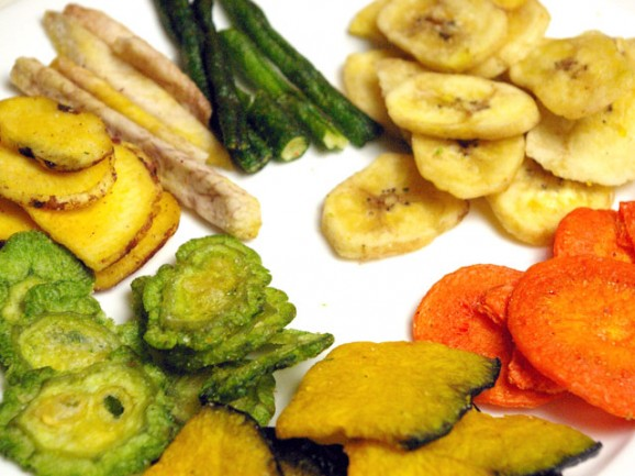 7 reasons unexpectedly high calorie of vegetable chips