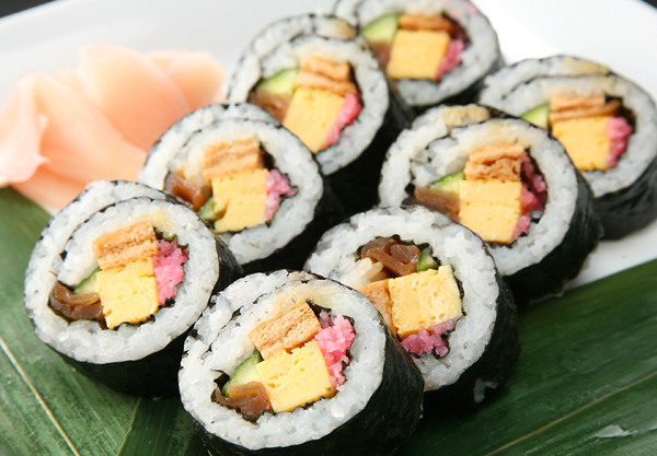 Decrease Calories in Sushi! 7 Recipes for Your Health
